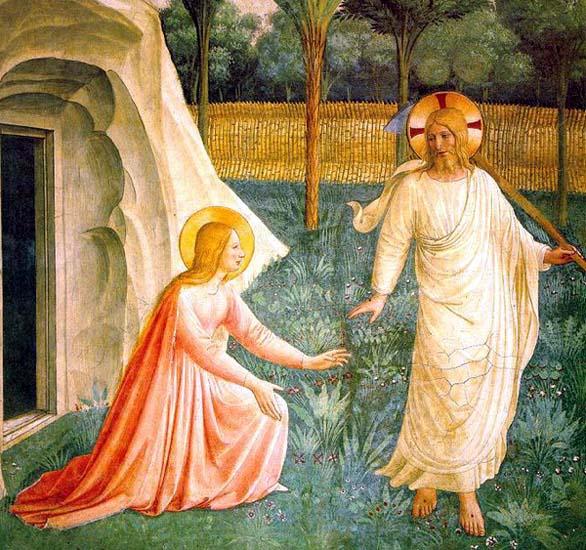 Marie-Madeleine et le Christ Ressuscite