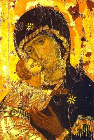Théotokos (Mère de Dieu) de Vladimir