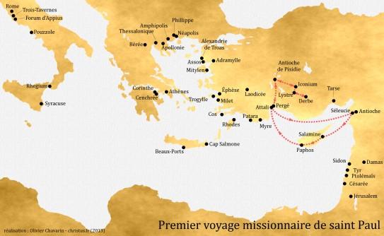 1-premier-voyage-missionnaire-de-saint-Paul