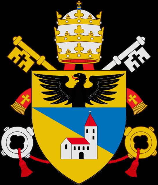 Armoiries du Pape Benoît XV, «RELIGIO DEPOPULATA»