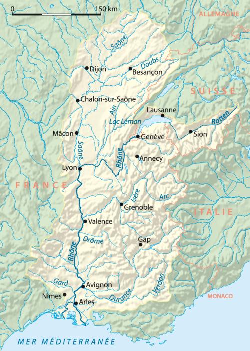 Rhone-bassin-versant