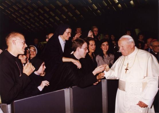 1996-10-31 Avec Jean-Paul II