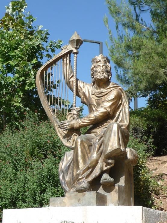 David tenant la harpe