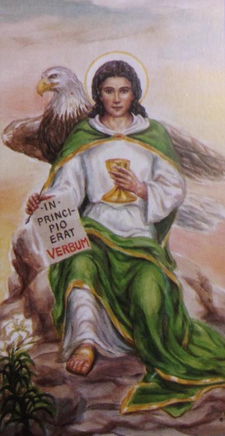 L'apôtre Jean, l'Aigle de Patmos.