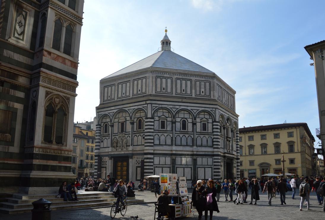 Baptistère San Giovanni, à Florence.