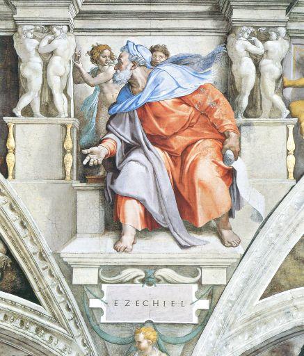 Ezekiel-by-Michelangelo