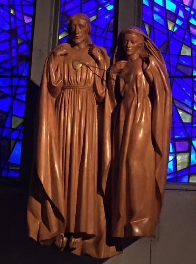 Les Coeurs Unis de Jésus et de Marie, à Kérizinen.