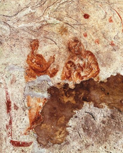 Madonna col Bambino (catacombe di Priscilla) (1)