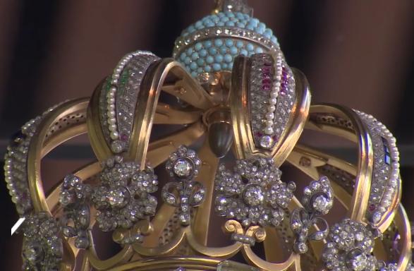 Vue détaillée de la couronne